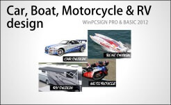 car, boat, moto & rv design