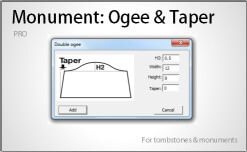 Monument: Ogee & Taper