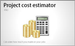 Project cost estimator