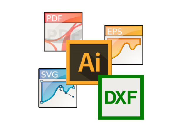 Compatible with all vectorial software
