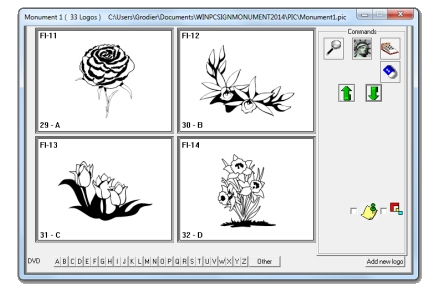 Vector images library