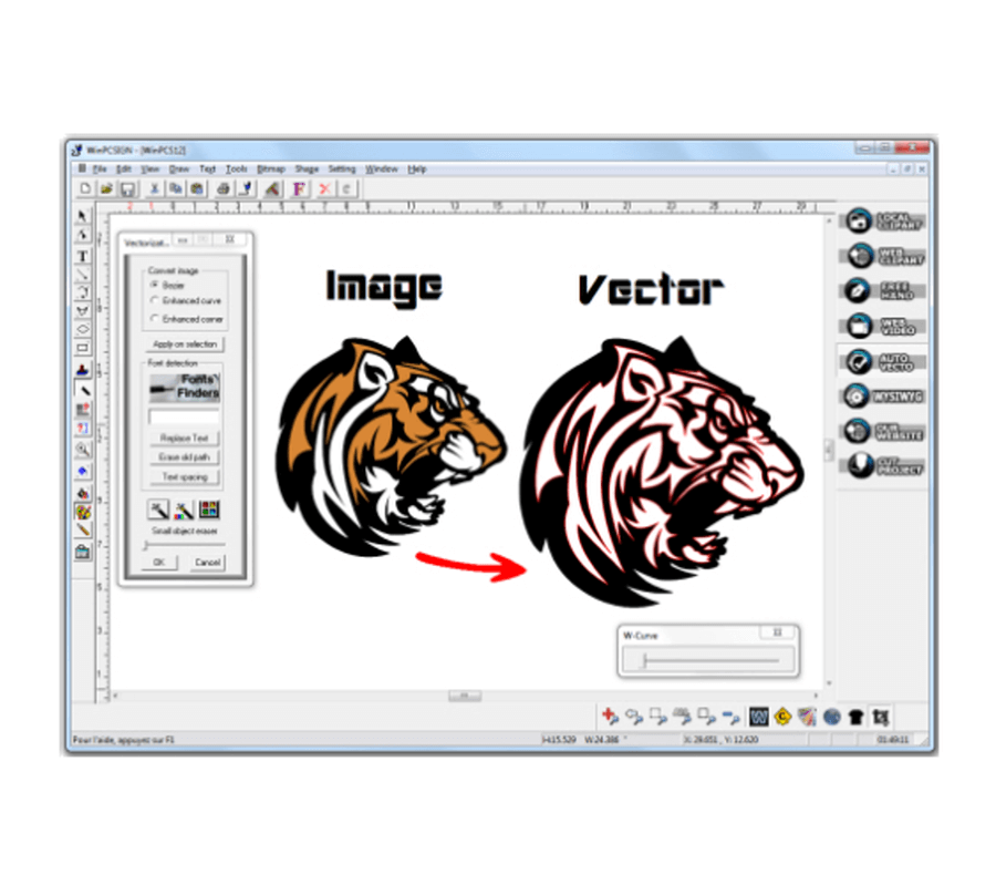 Convert Images Into Cutting Projects